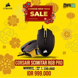 Corsair Scimitar Pro Yellow