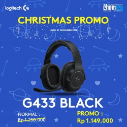 Logitech G433 Triple Black