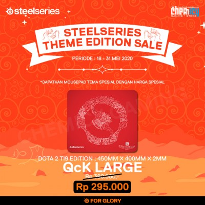 Steelseries QcK Large Dota 2 TI9 Edition