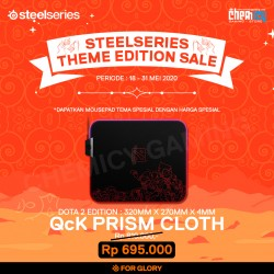 Steelseries QcK Prism Cloth RGB Dota 2 TI9 Edition