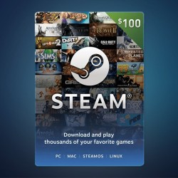 Steam Wallet Code $100