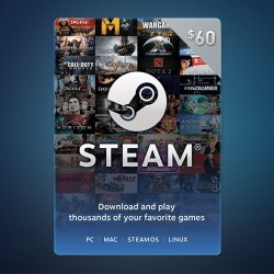 Steam Wallet Code $60